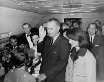 LBJ Oath on board airforce1