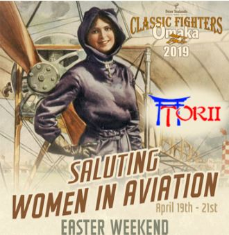 Classic Fighters Omaka 2019 Women in Aviation
