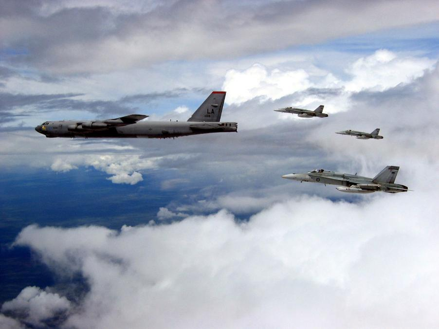 US Air Force Attending Warbirds over Wanaka